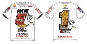 T-Shirt World Champion Blanc