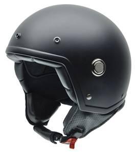 NZI - Casque Moto, Scooter Demi-Jet - TONUP - Noir mat