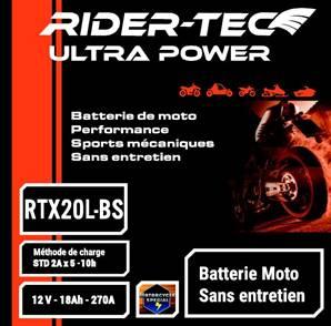 Batterie sans entretien 12V 18AH