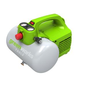 Compresseur d'air de 6L GREENWORKS
