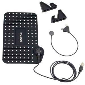 Tapis antidérapant avec câble USB pour smartphone