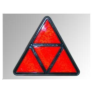 Réflecteurs rouges triangulaires (4 zones)