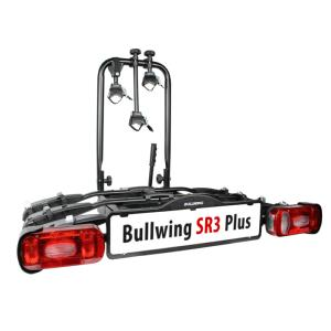Porte-vélos d'attelage plateforme pour 3 vélos Bullwing SR3 Plus