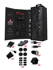 Kit Mains-libres et Intercom Motion Infinity Pack Duo - Uclear
