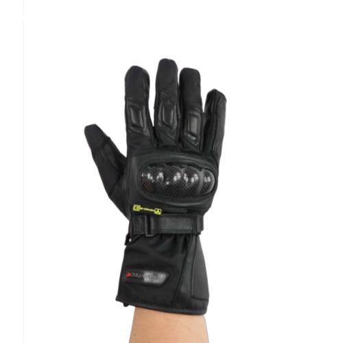 Gants de Moto Unisexe Winter Trail Rider-Tec Cuir Noir