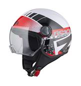 NZI - Casque Moto, Scooter Demi-Jet - CAPITAL VISION - Multicolore brillant