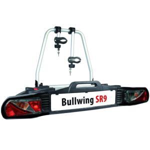 Porte-vélos d'attelage plateforme pour 2 vélos Bullwing SR9