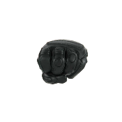 Gants de Moto Unisexe Winter Race Rider-Tec Cuir Noir