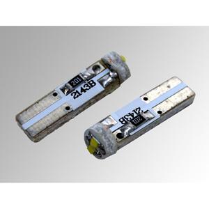 Ampoules à LEDs T5 CMS 1W blanches