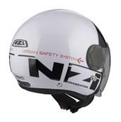NZI - Casque Moto, Scooter Jet - RINGWAY DUO - Bicolore Brillant