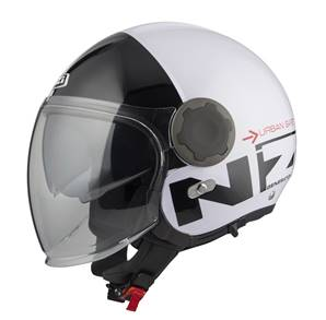 NZI - Casque Moto, Scooter Jet - RINGWAY DUO - Bicolore Brillant