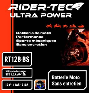 Batterie sans entretien 12V 10AH