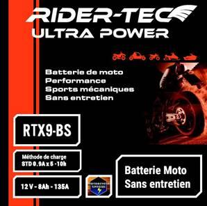 Batterie sans entretien 12V 8AH