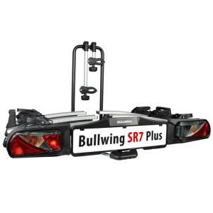 Porte-vélos d'attelage plateforme pour 3 vélos Bullwing SR7 Plus