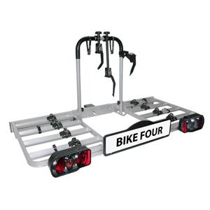 Porte-vélos plateforme 4 vélos BIKE FOUR EUFAB