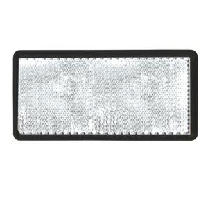 Réflecteur blanc rectangle à coller