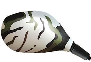 Housse rétroviseur scooter camouflage ovale