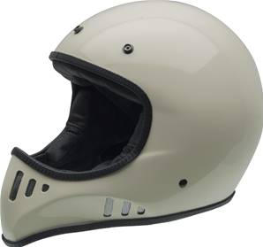 NZI - Casque Moto, Scooter intégral - RCV CARBON - Ecru brillant