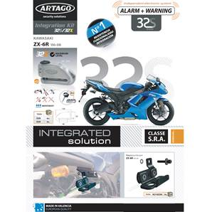 SUPPORT ADAPTABLE 32 KAWASAKI ZX-6R (2006-2008)