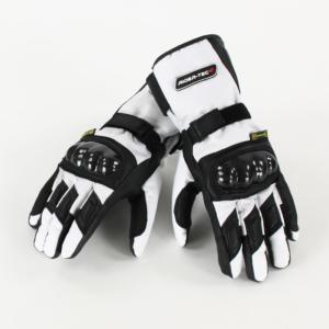 Gants de Moto Unisexe Winter Trail Rider-Tec Cuir Noir & Beige