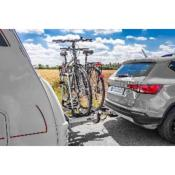 Porte-vélos 2 vélos alu pour flèche de caravane ou de remorque - Eufab
