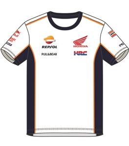 T-shirt Inserts And Piping Repsol H