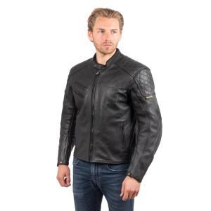 Blouson de Moto Homme Urban Rider-Tec Urban Cuir Noir