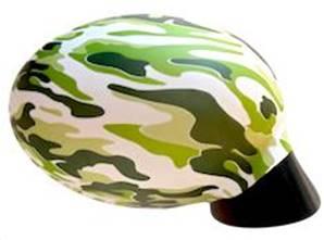 Housse rétroviseur voiture décorative camouflage