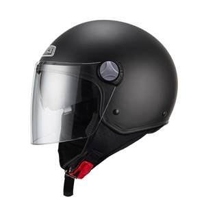 NZI - Casque Moto, Scooter Demi-Jet - CAPITAL2 DUO - Noir mat