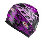 NZI - Casque Moto, Scooter Intégral - FUSION - Multicolore Mat