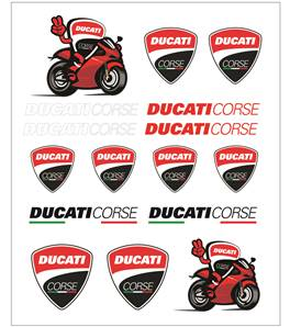 Ducati Big Stickers
