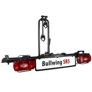 Porte-vélos 2 vélos sur attelage plateforme SR5 - Bullwing