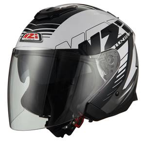 NZI - Casque Moto, Scooter Jet - AVENEW2 DUO GRAPHICS - Bicolore Brillant