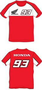 T-Shirt Dual Honda-MM93 Rouge
