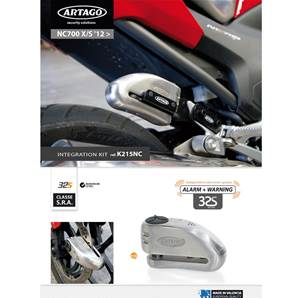 SUPPORT ADAPTABLE 32 HONDA NC700X/S (2012-…) INTEGRA (2012-…)