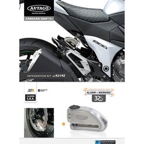 SUPPORT ADAPTABLE 32 KAWASAKI Z800 (2013-…)