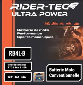 Batterie Conventionnelle 12V 4AH