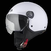 NZI - Casque Moto, Scooter Demi-Jet - CAPITAL VISION - Blanc brillant