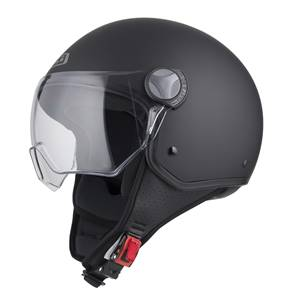 NZI - Casque Moto, Scooter Demi-Jet - CAPITAL VISION - Noir mat
