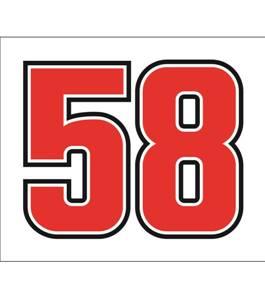 58 Sticker