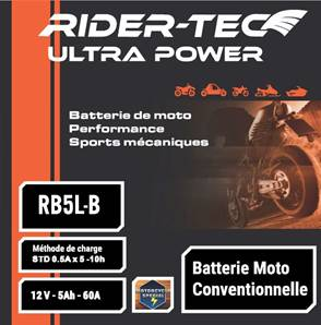 Batterie Conventionnelle 12V 5AH
