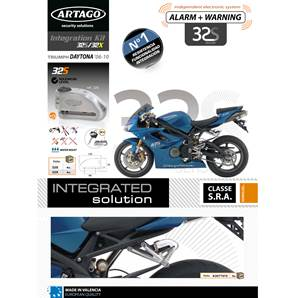 SUPPORT ADAPTABLE 32 TRIUMPH DAYTONA 675 (2006-…)