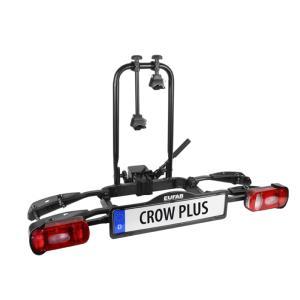 Porte-vélos 2 vélos sur attelage basculant CROW PLUS - Eufab