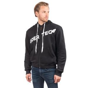 Sweetshirt Unisexe Freestyle Hoodies Rider-Tec Textile Noir & Blanc