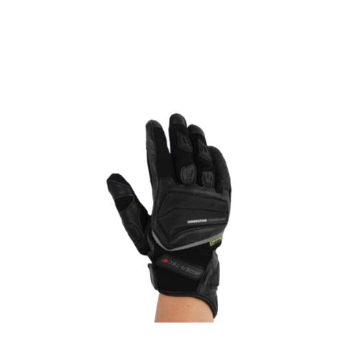 Gants de Moto Unisexe Summer Port Rider-Tec Cuir et Mesh Noir
