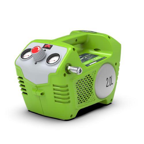 Compresseur d'air sur batterie GREENWORKS 40V (sans batterie ni chargeur)