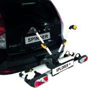 Porte-vélos sur attelage 2 vélos SPINDER XPLORER+ pliable