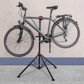 Trépied atelier - montage - nettoyage pour vélo