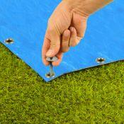 Piquets de tapis de sol 20 pièces