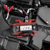 Chargeur de batterie commandé par microprocesseur 6/12V 4A